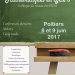 Affiche math cycle3 poitiers 2017